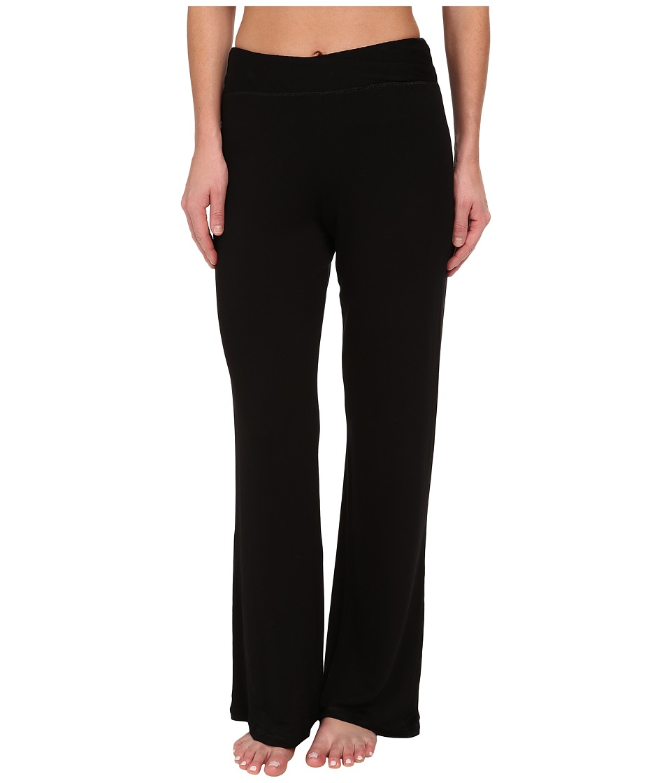Midnight by Carole Hochman - Lounge Capsule Lounge Pant (Black) Women's Pajama