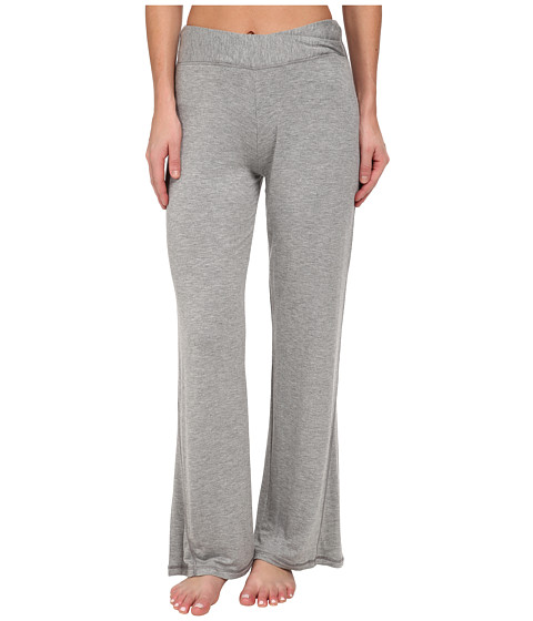 Midnight by Carole Hochman - Lounge Capsule Lounge Pant (Heather Grey) Women's Pajama