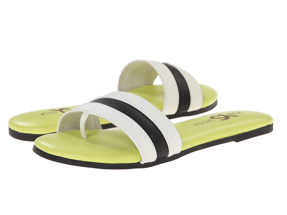 Yosi Samra - Remi Soft Leather Sandal (White) Women's Dress Sandals
