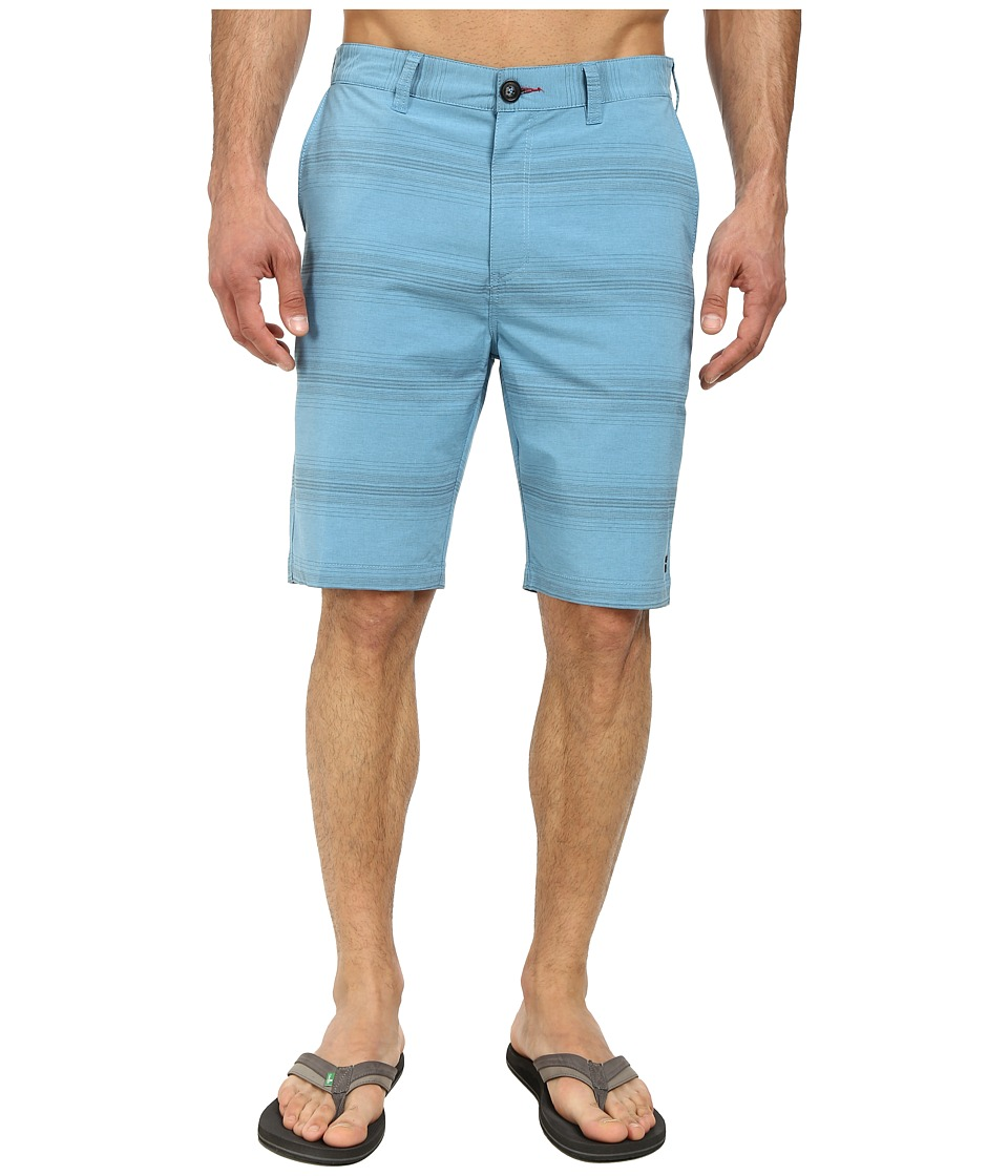 Billabong - Crossfire X Stripe Hybrid Short (Washed Blue) Men's Shorts