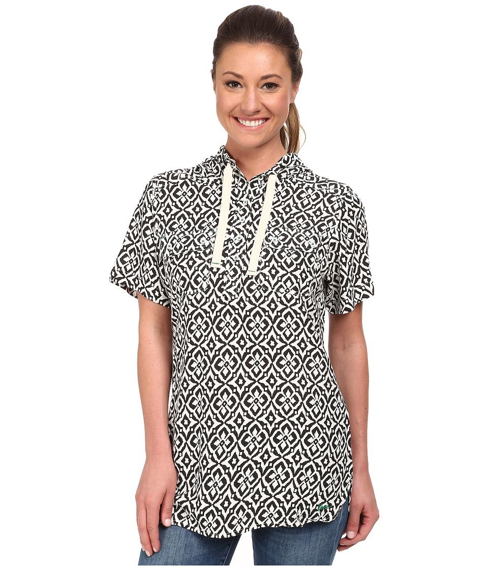 KAVU - Holly Hoodie (Black Mosaic) Women's Sweatshirt