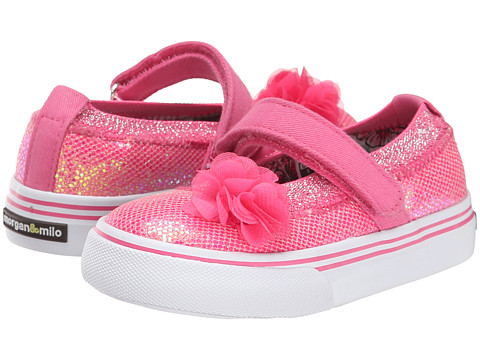 Morgan&Milo Kids - Shimmer MJ Glitter (Toddler/Little Kid) (Pink Cupcake) Girls Shoes