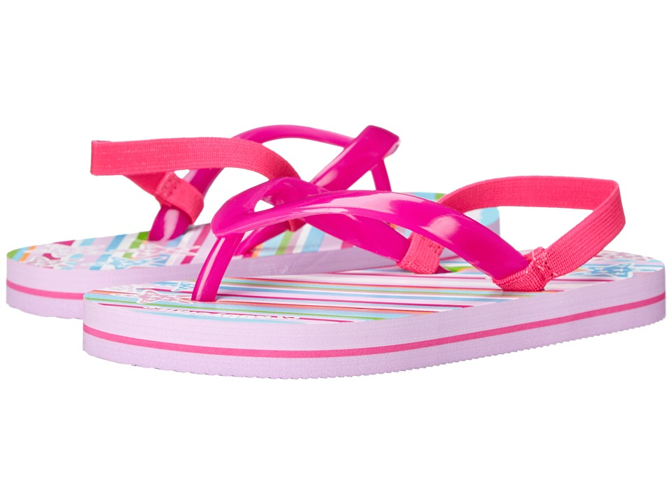 Crabbyclaws - Oceana (Toddler/Little Kid/Big Kid/Big Kid) (Fuchsia/Lavender) Girls Shoes