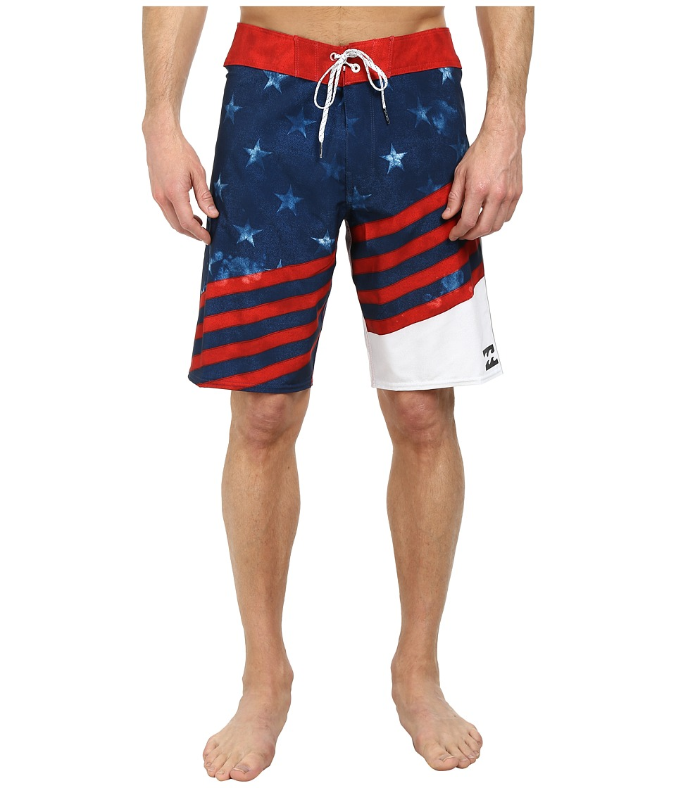 Billabong - Slice X 20 Boardshort (Navy) Men's Swimwear