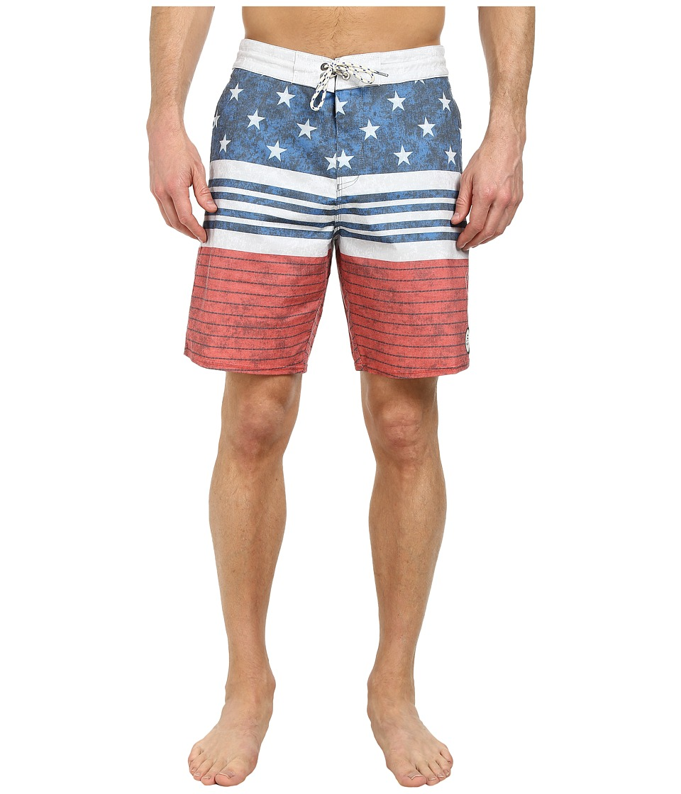 Billabong - Spinnder Lo Tides 19 Boardshort (Navy) Men's Swimwear