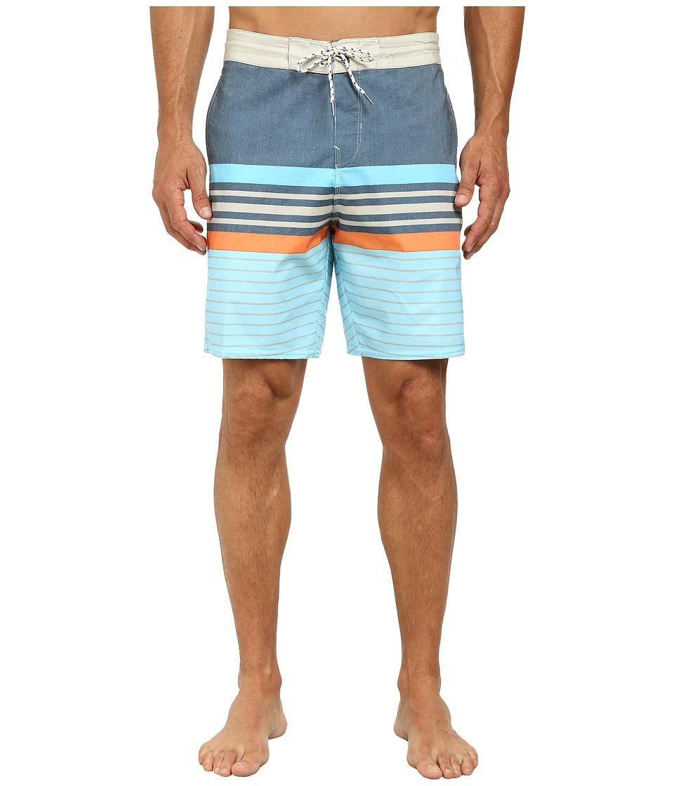 Billabong - Spinnder Lo Tides 19 Boardshort (Sky Blue) Men's Swimwear
