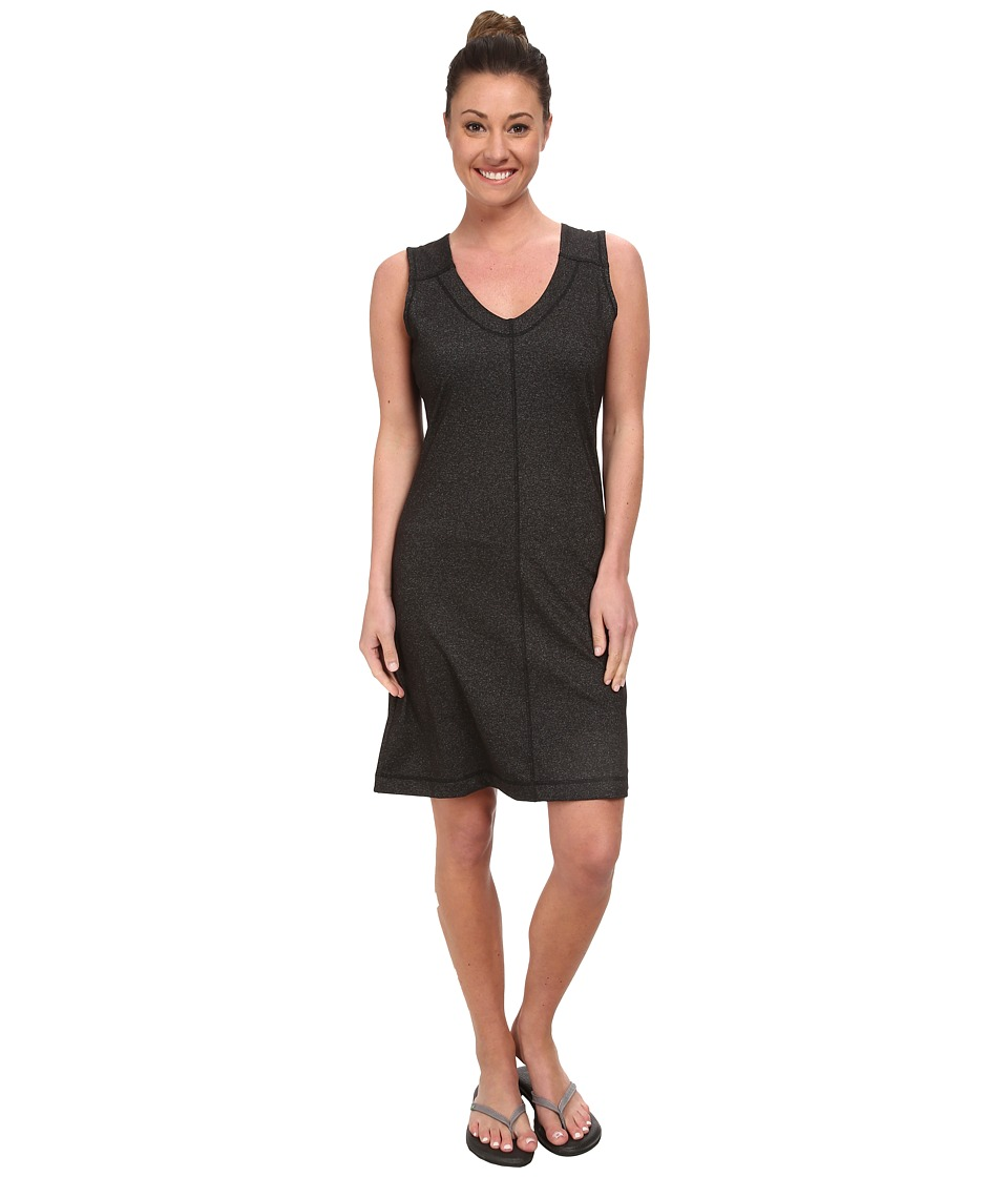 KAVU - Eve Dress (Black Smoke) Women's Dress