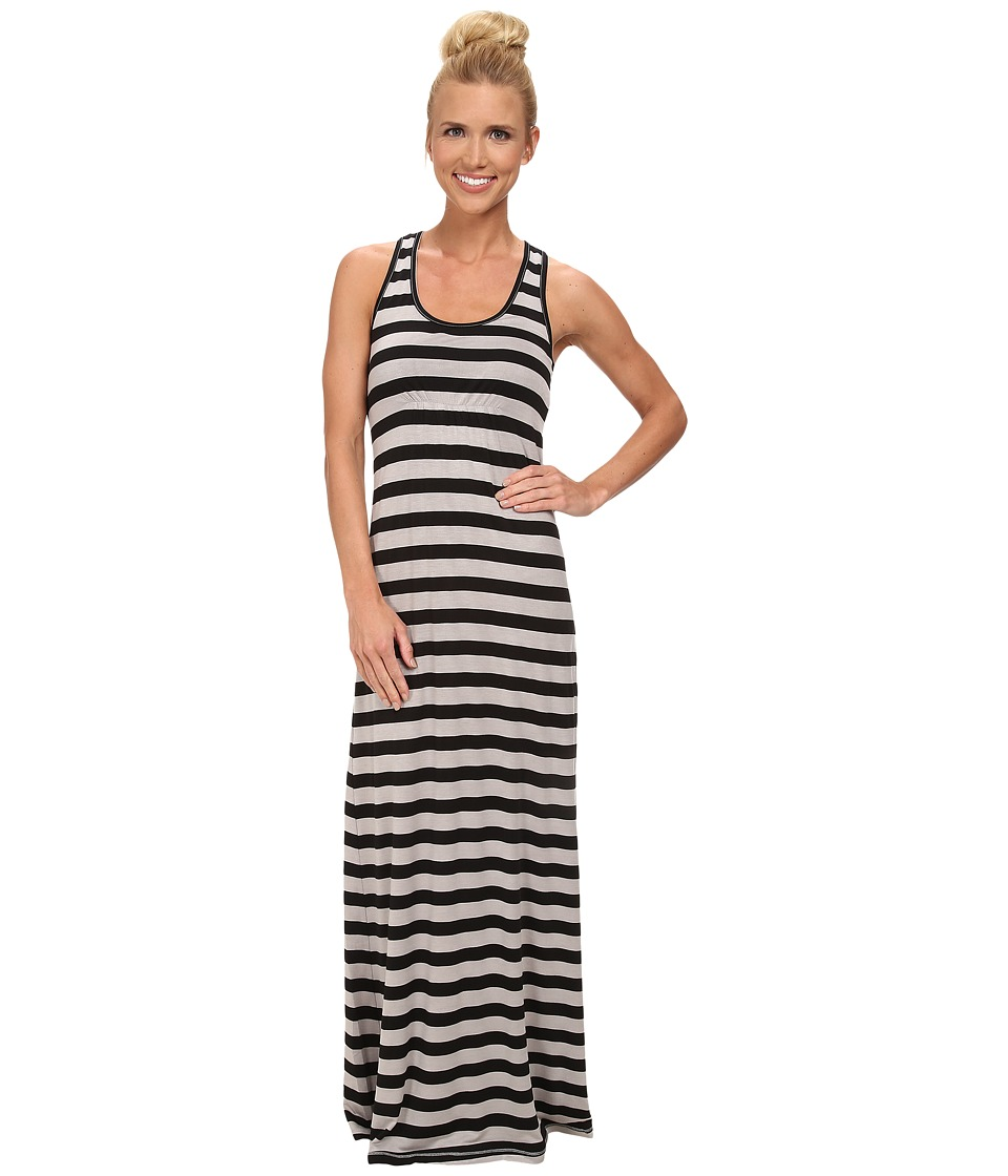 KAVU - Minnie Maxi Dress (Black Smoke) Women's Dress