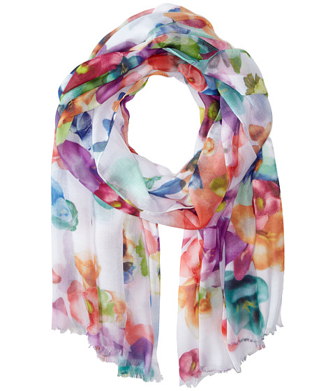 Echo Design - Spring Fling Floral Wrap Scarf (Multi) Scarves