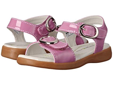 Morgan&Milo Kids - Isla Sandal Patent (Toddler/Little Kid) (Deep Purple) Girls Shoes