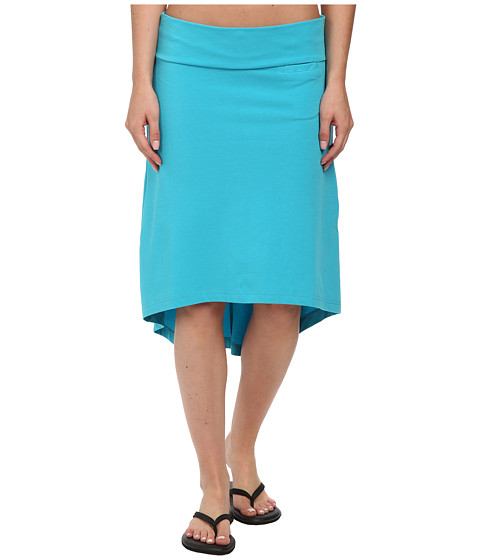 KAVU - Stella Skirt (Scuba Blue) Women