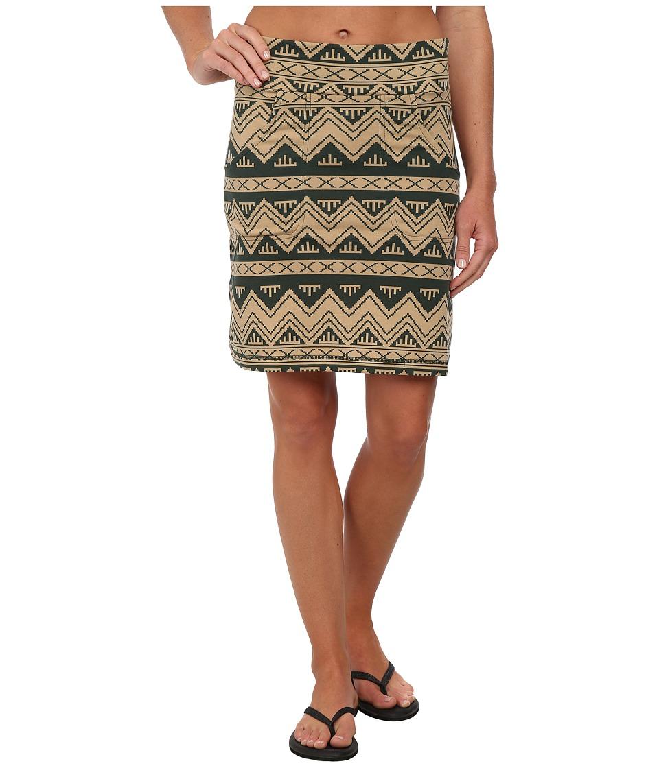KAVU - Paulina Skirt (NW Chevron) Women's Skirt