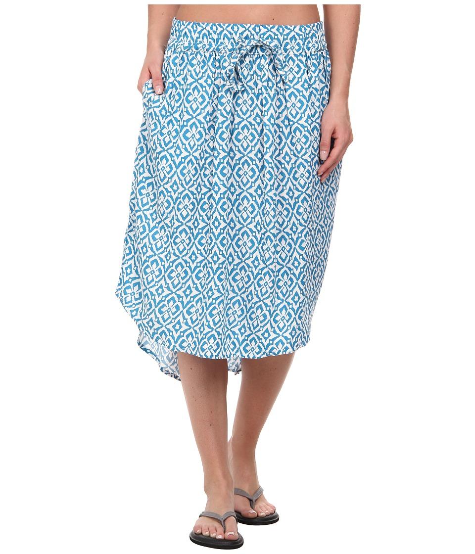 KAVU - Joplin Skirt (Blue Mosaic) Women's Skirt