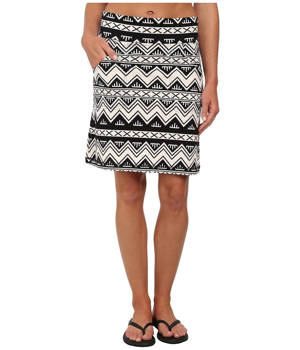 KAVU - Paulina Skirt (BW Chevron) Women's Skirt