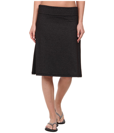 KAVU - Penny Skirt (Black Smoke) Women's Skirt