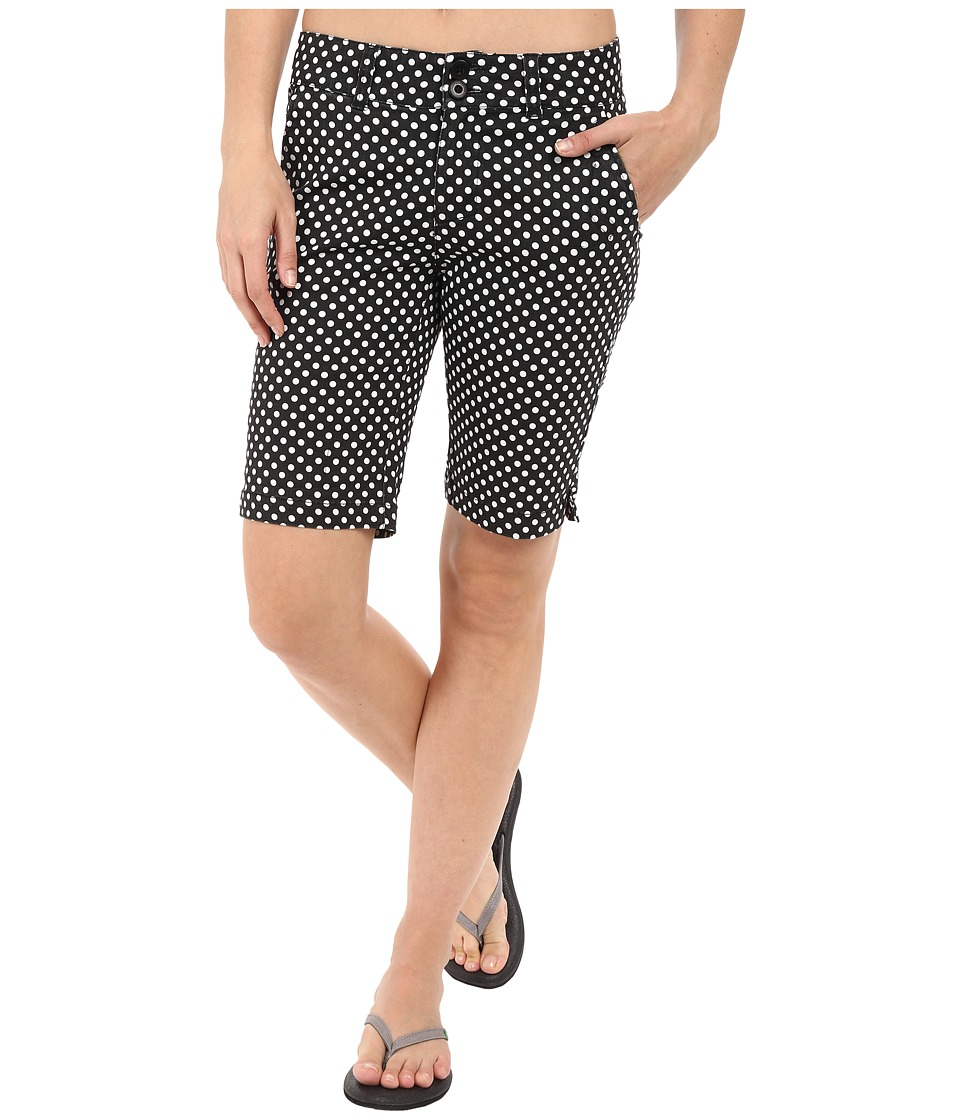 KAVU - Phoebe Short (Black Dots) Women's Shorts