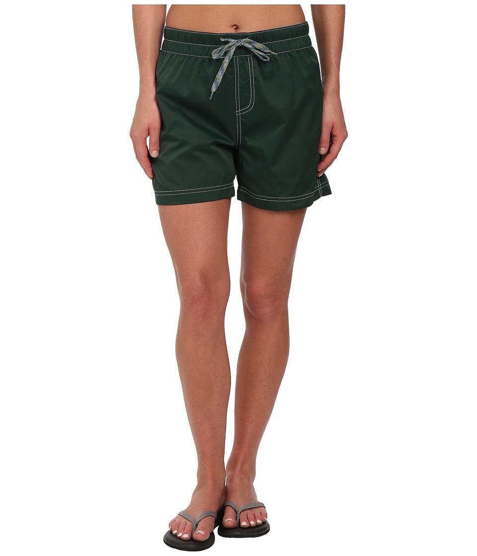 KAVU - Kamea Short (Hunter Green) Women's Shorts