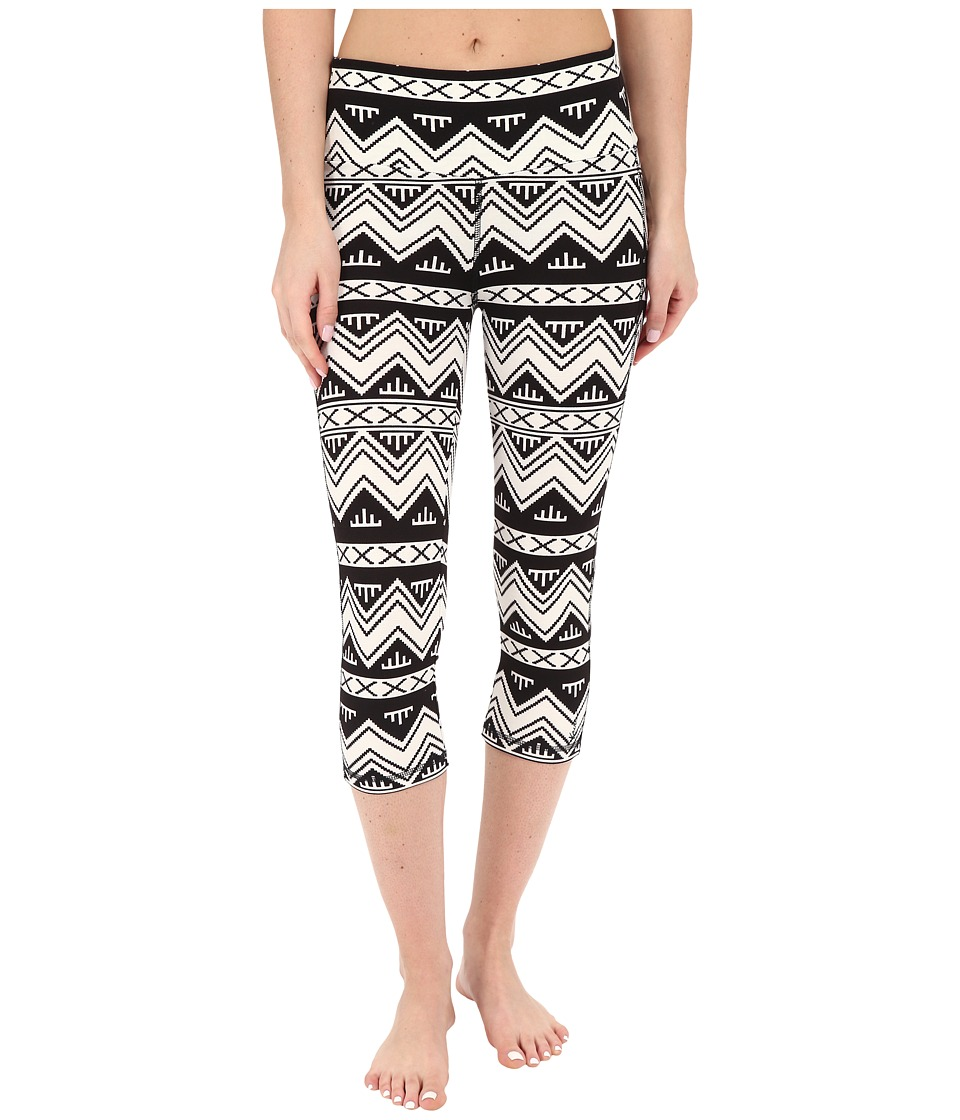 KAVU - Cadence Chop (BW Chevron) Women's Casual Pants