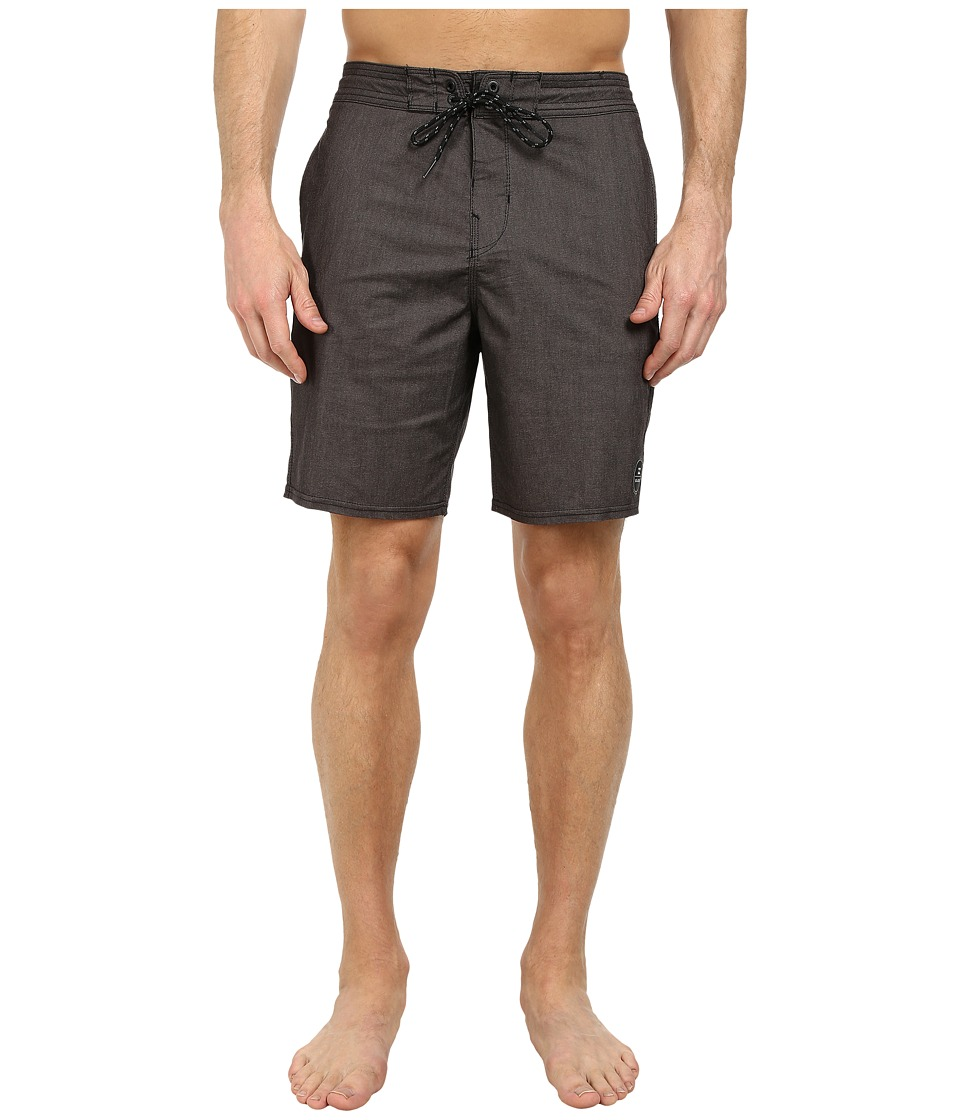 Billabong - All Day Lo Tides 19 Boardshort (Black) Men's Swimwear