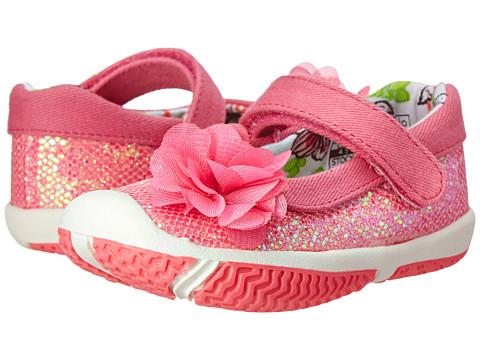 Morgan&Milo Kids - Shimmer MJ Glitter (Toddler) (Pink Cupcake) Girls Shoes
