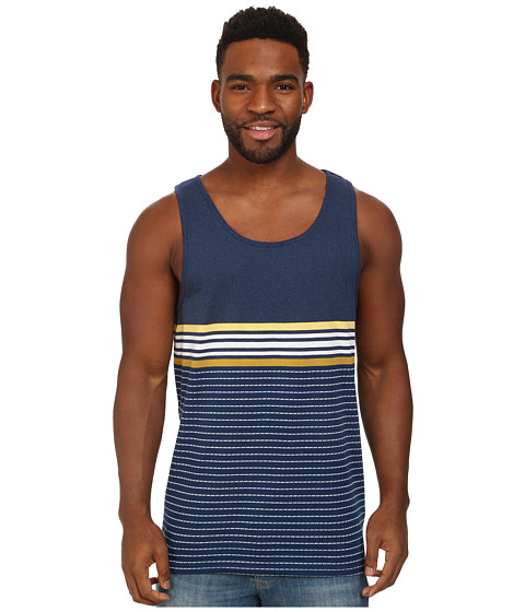 Billabong - Spinner Tank (Indigo) Men's Sleeveless