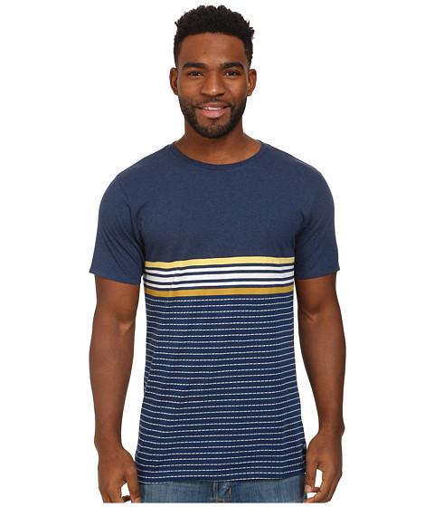 Billabong - Spinner Yarn Dye Crew (Indigo) Men's T Shirt