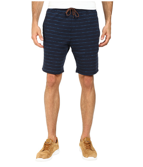 Billabong - Hudson Stripe Short (Dark Blue) Men's Shorts