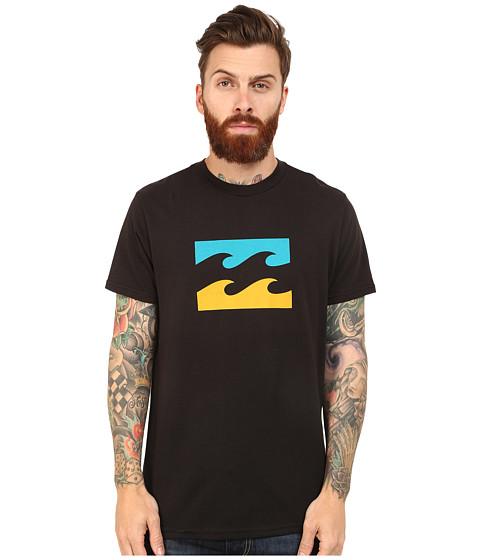 Billabong - Contrasted Tee (Black) Men's T Shirt