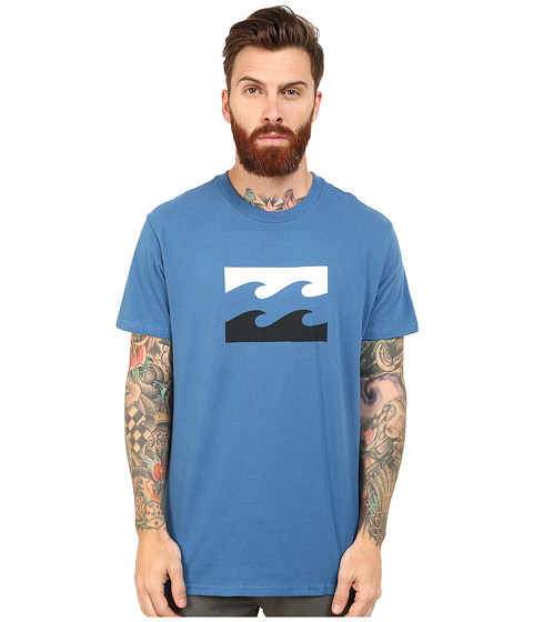 Billabong - Contrasted Tee (Royal) Men