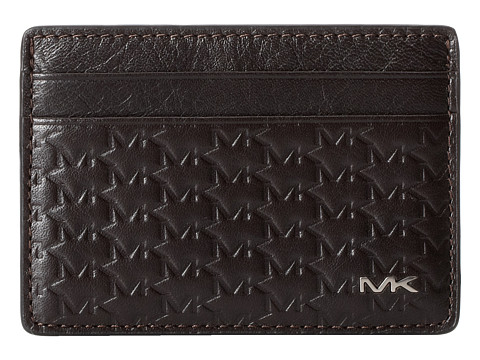 Michael Kors - Jet Set Card Case (Brown) Credit card Wallet