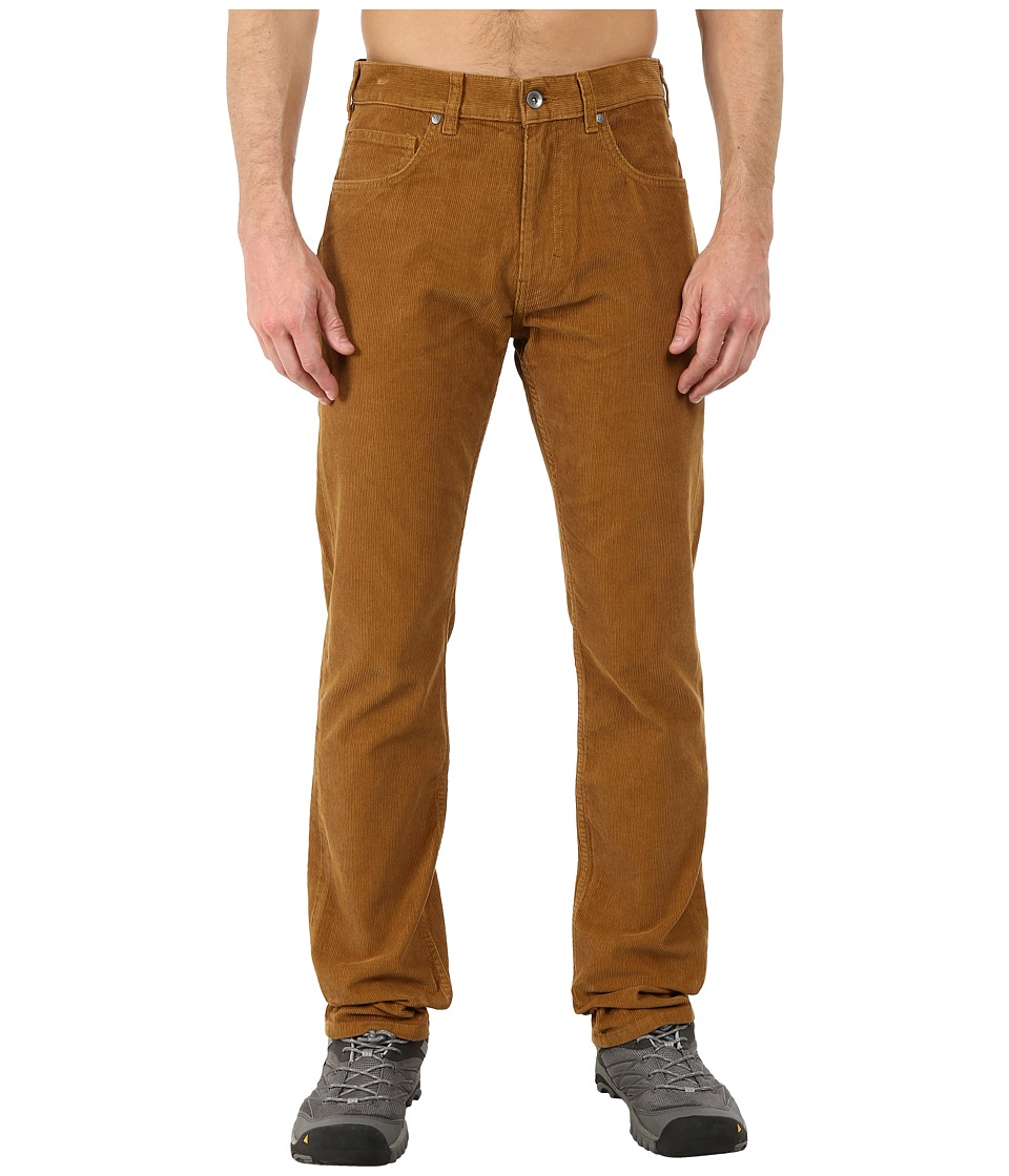Patagonia - Straight Fit Cords - Long (Bear Brown) Men's Casual Pants