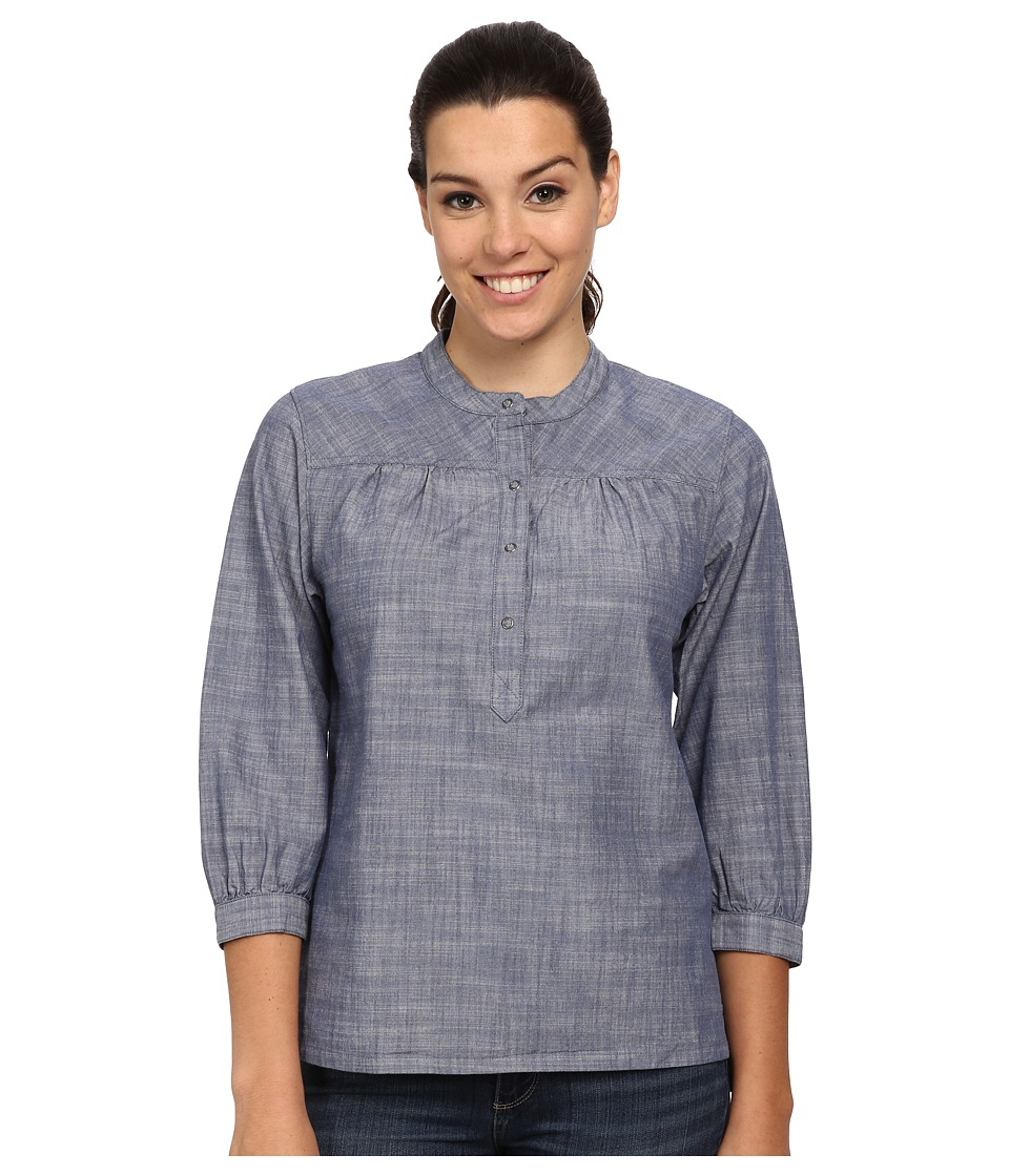 Patagonia - Settler's Top (Chambray/Dark Railroad Blue) Women's Clothing
