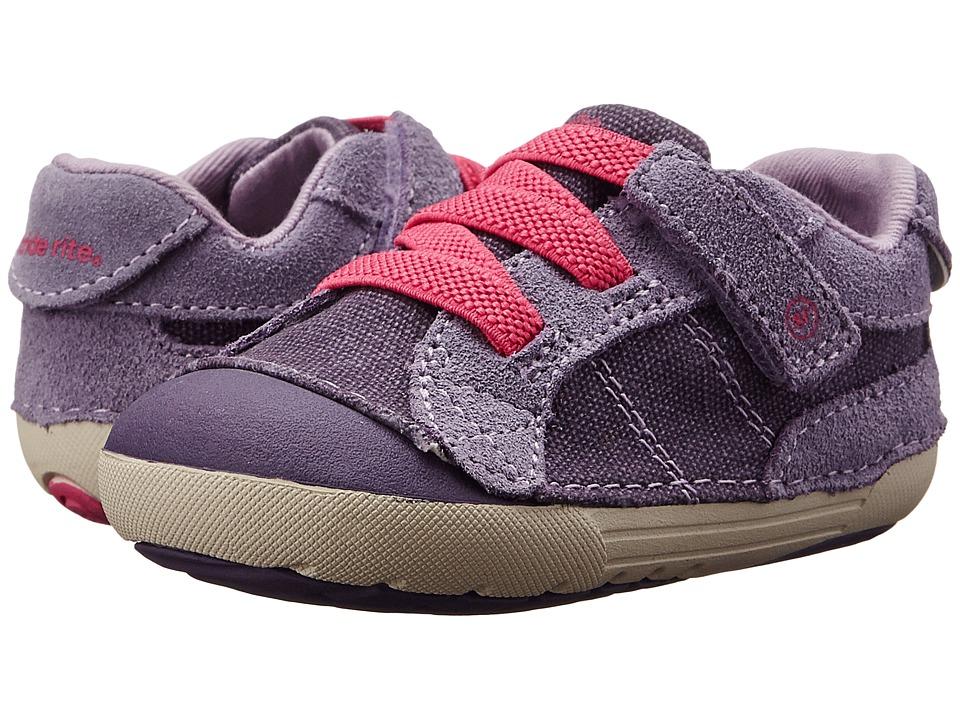 Stride Rite - SRT SM Skyler (Infant/Toddler) (Purple) Girls Shoes