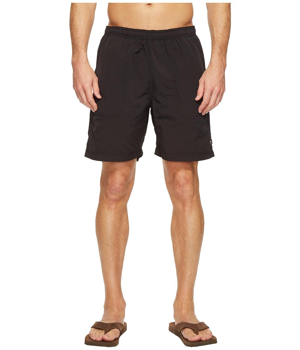 KAVU - River Short (Black) Men's Shorts