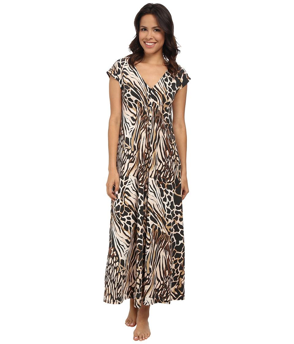 N by Natori - N Natori Gown 52 (Biscuit) Women's Pajama