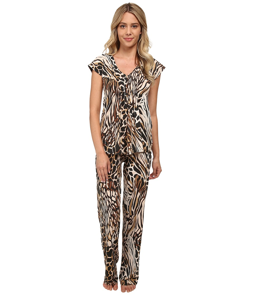 N by Natori - N Natori PJ Set (Biscuit) Women's Pajama Sets
