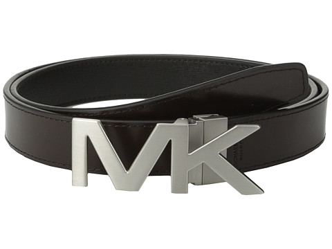 Michael Kors - Reversible Belt Boxed Set (Black/Brown) Men