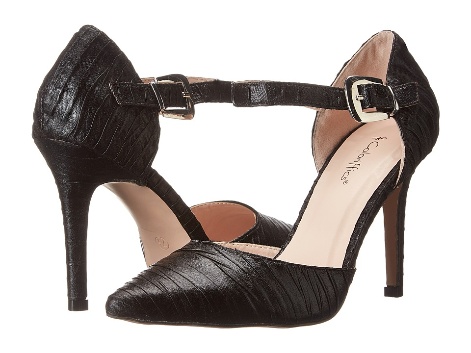 Coloriffics Elana (Black) High Heels