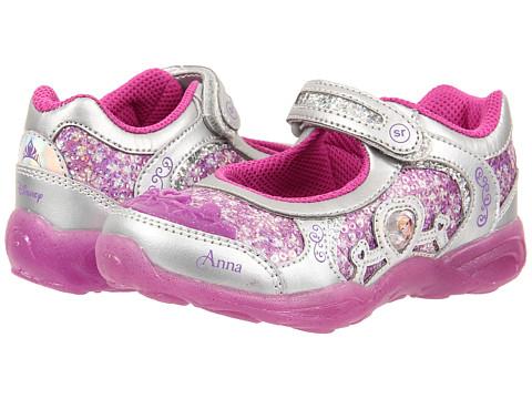 Stride Rite - Disney Anna Elsa MJ (Toddler/Little Kid) (Magenta) Girl's Shoes