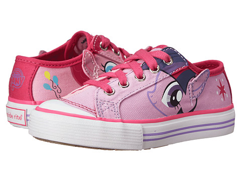 Stride Rite - Twilight Sparkle/Pinkie Pie Lace (Toddler/Little Kid) (Purple/Pink) Girl's Shoes