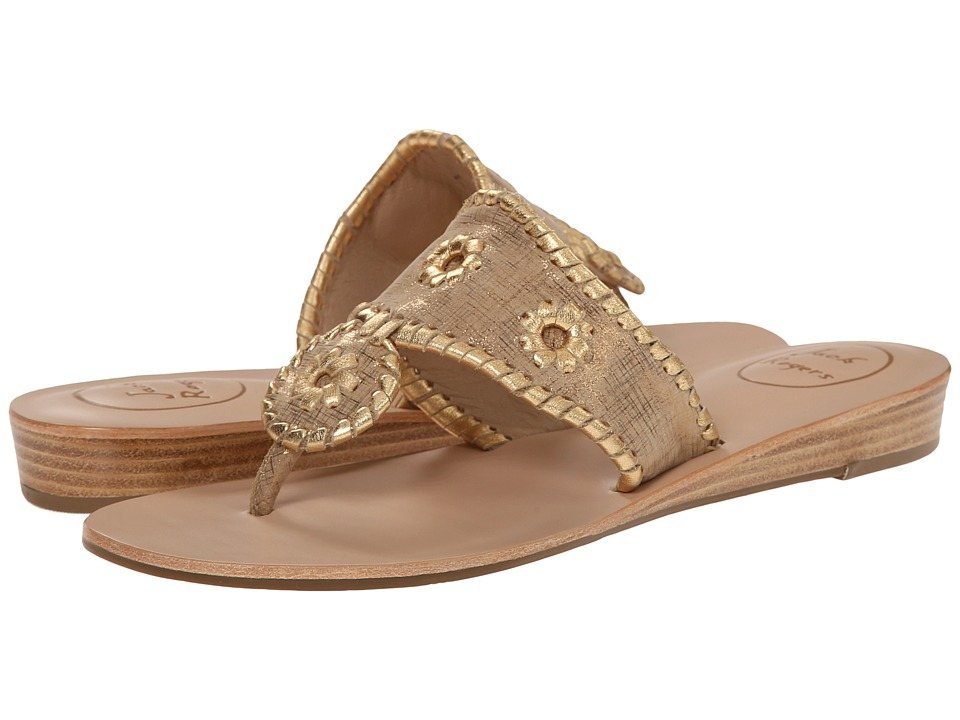 Jack Rogers - Capri Etched (Bronze) Women's Sandals