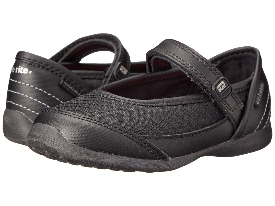 Stride Rite - M2P Terry (Toddler/Little Kid) (Black) Girl's Shoes
