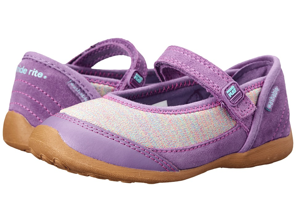 Stride Rite - M2P Terry (Toddler/Little Kid) (Purple) Girl's Shoes