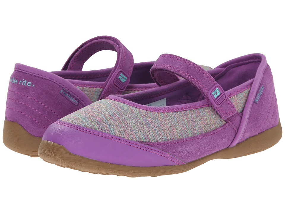 Stride Rite - M2P Terry (Little Kid) (Purple) Girl's Shoes
