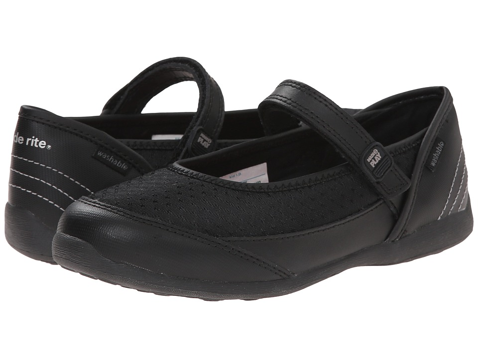 Stride Rite - M2P Terry (Little Kid) (Black) Girl's Shoes