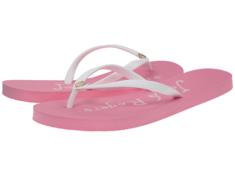 Jack Rogers - Skye (White/Pink) Women's Shoes