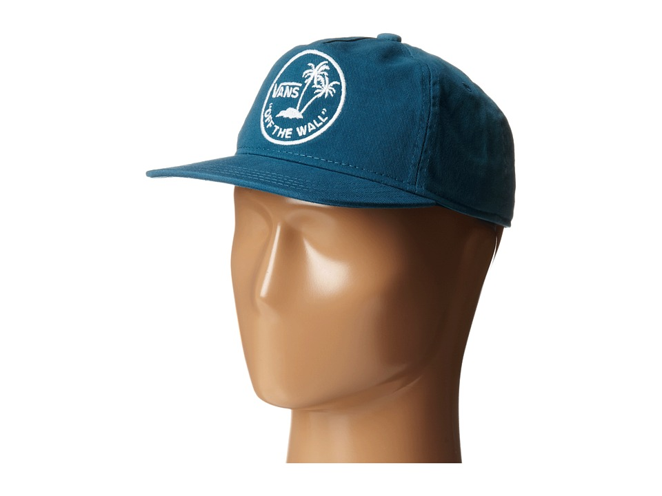 Vans - Dipped Snapback Hat (Big Kids) (Blue) Caps