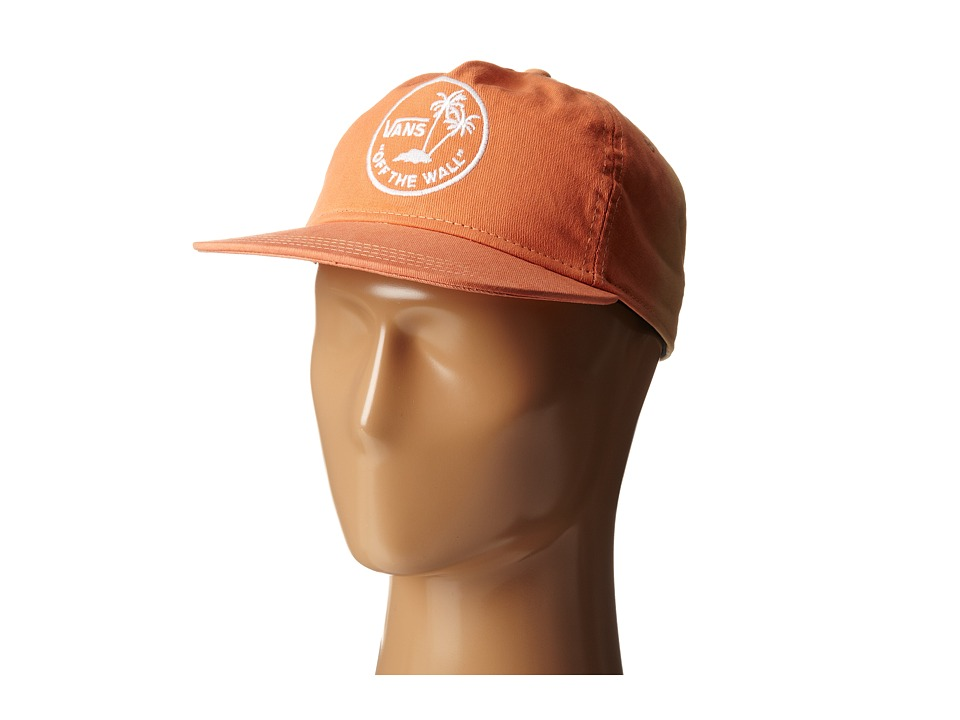 Vans - Dipped (Orange) Baseball Caps