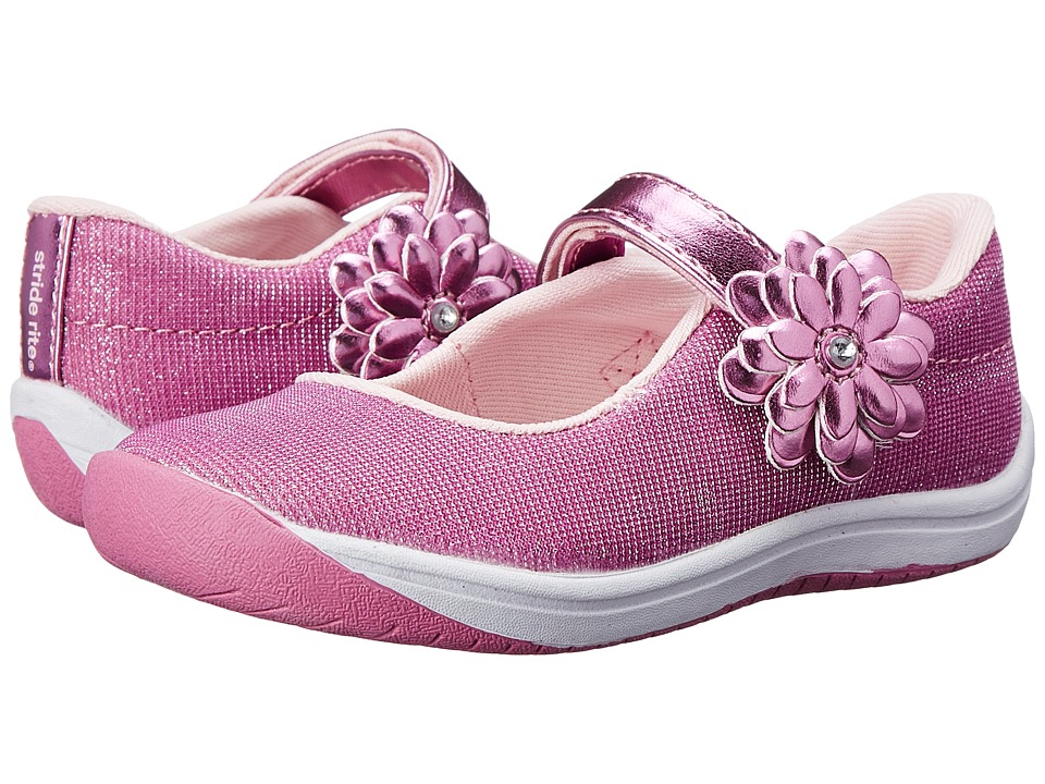 Stride Rite - Haylie (Toddler) (Pink) Girl's Shoes