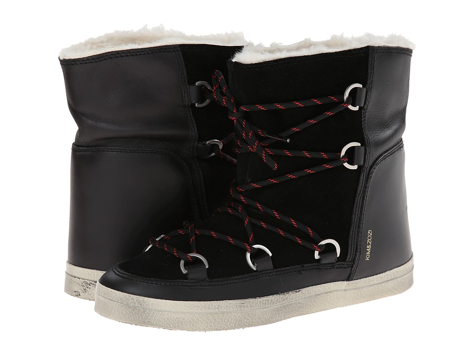 Kim & Zozi - Ski (Black) Women's Lace-up Boots